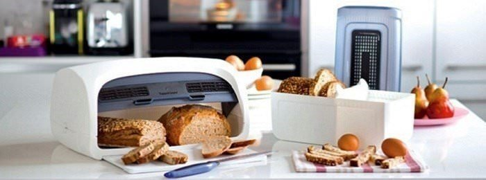 Хлебницы, сырницы, масленки Tupperware