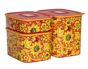 Набор контейнеров «Акваконтроль» «Хохлома» - фото 10000