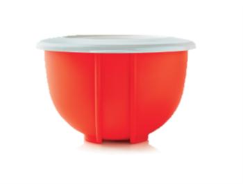 Двойное замесочное блюдо (1,5л) оранжевое - фото 10056