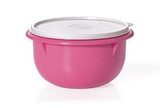 Замесочное блюдо (2л) в розовом цвете - фото 10190