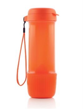 Эко-бутылка «Витаминный заряд» (700мл) оранжевая - фото 10427
