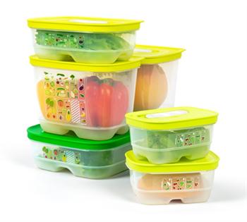 Набор контейнеров «Умный холодильник» - фото 10508