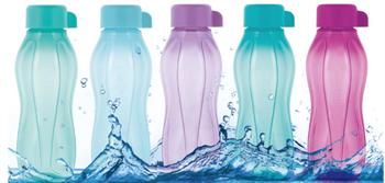 Эко - бутылка «Мини» (310мл) малиновая - фото 10813