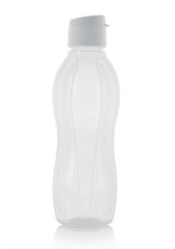 Эко-бутылка (1л) в белом цвете - фото 11285