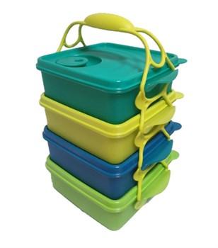 Набор контейнеров «Пикник» (850мл) 4 шт - фото 11709
