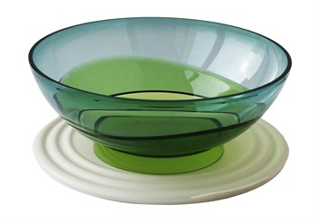 Чаша «Элегантность» (1,5л) в зелёном цвете - фото 12065