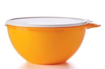 Чаша Милиан (4,5л) в оранжевом цвете - фото 12394