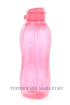 Эко-бутылка (1,5л) коралловая - фото 8117