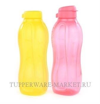 Эко-бутылка (1,5л) коралловая - фото 8144