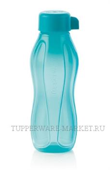 Эко - бутылка «Мини» (310мл) в бирюзовом цвете - фото 8510