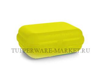Ланч-бокс в жёлтом цвете - фото 8669