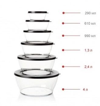 Чаша «Кристалл» (990мл) - фото 8720