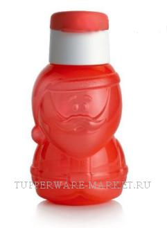 Эко-бутылка Дед Мороз 350 мл - фото 8915