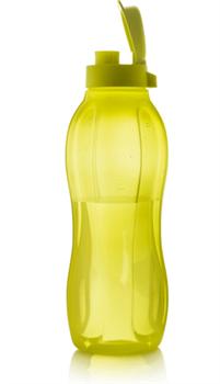 Эко-бутылка (1,5л) с клапаном в желтом цвете - фото 9265