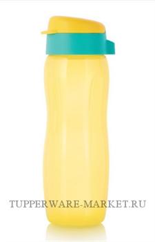 "Эко-бутылка ""Стиль"" (500мл) желтая - фото 9307"
