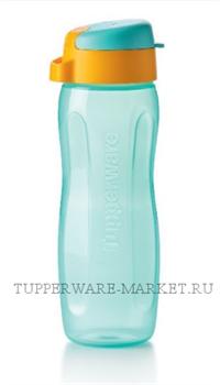 "Эко-бутылка ""Стиль"" (500мл) голубая - фото 9311"