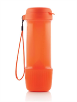 Эко-бутылка «Витаминный заряд» (700мл) оранжевая