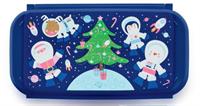 Контейнер Новогодний в синем цвете (980мл)