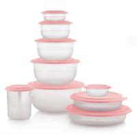 Набор Сервировочная коллекция №9 в розовом цвете