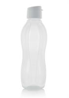 Эко-бутылка (1л) в белом цвете