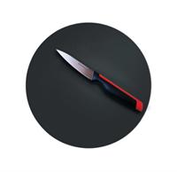 Разделочная доска круглая чёрная