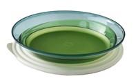 Блюдо «Элегантность» (1,5л) в зелёном цвете