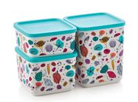 Набор контейнеров кубикс «Рио» (650мл/1/1,8л)