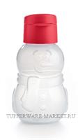 Эко-бутылка Снеговик 350 мл