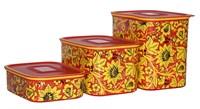 Набор контейнеров «Акваконтроль» «Хохлома»