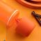 Эко-бутылка «Витаминный заряд» (700мл) оранжевая - фото 10429
