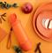 Эко-бутылка «Витаминный заряд» (700мл) оранжевая - фото 10430