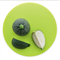 Разделочная доска круглая зелёная - фото 11324