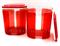 Контейнер «Элегант» (1,5л) в красном цвете - фото 11557