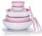 Чаша «Аллегро» (275мл) в розовом цвете 2шт - фото 11765