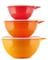 Чаша Милиан (4,5л) в оранжевом цвете - фото 12391