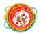 Чаша Милиан (4,5л) в оранжевом цвете - фото 12393