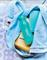 Эко - бутылка «Мини» (310мл) в бирюзовом цвете - фото 8509