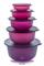"""Набор чаш """"Алоха"""" (450мл/1л/2л/4л/7.5л) - фото 8820"""