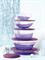 Набор «Элегантность»: Сервировочная корзина + Чаша 600мл (2шт) - фото 8984