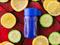 Эко-бутылка (90мл) в синем цвете - фото 9617